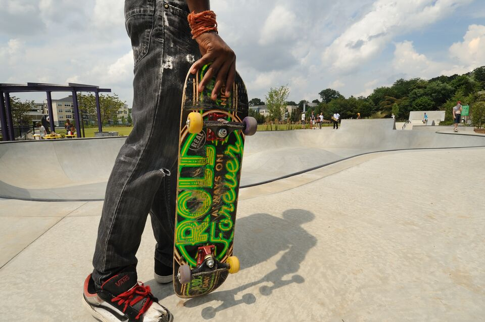 Falling With Style And Other Life Lessons From A Neighborhood Skate Park The Trust For Public Land